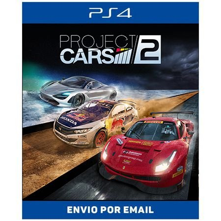 Project Cars 2 - Ps4 Digital