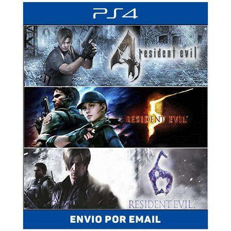Resident Evil pacote triplo - Ps4 Digital