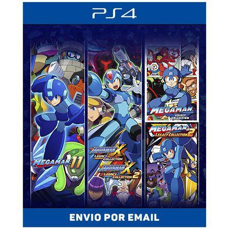Mega Man Colletion - Ps4 Digital