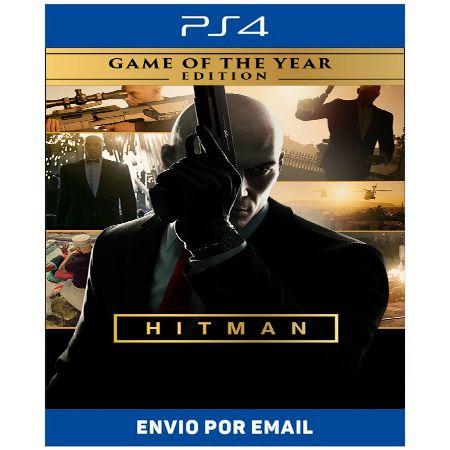 Hitman Edição jogo do ano - Ps4 e Ps5 Digital
