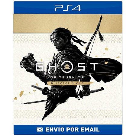 Ghost of Tsushima VERSÃO DO DIRETOR  - Ps4 digital