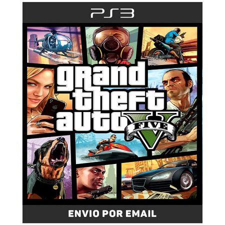 Grand Theft Auto v Gta 5 - Ps3 Digital