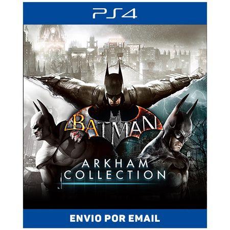 Batman arkham Collection - Ps4 e Ps5 Digital