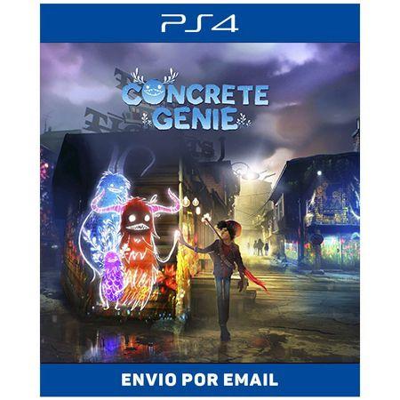 Concrete Genie - Ps4 e Ps5 Digital