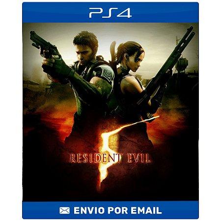 Resident evil 5 - Ps4 e Ps5 Digital