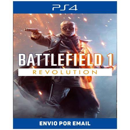 Battlefield 1 Revolution - Ps4 e Ps5 Digital