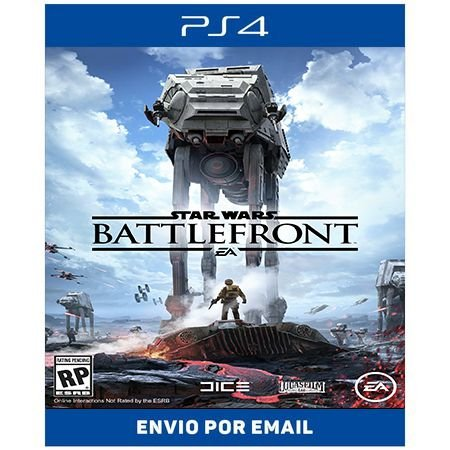 STAR WARS Battlefront - Ps4 Digital