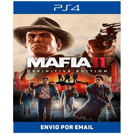 Mafia 2 Definitive Edition - Ps4 e Ps5 Digital