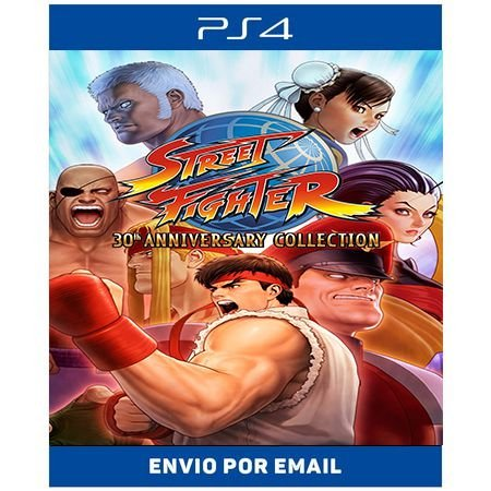 Street Fighter Collection - Ps4 Digital
