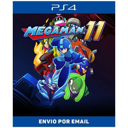 Mega man 11 - Ps4 Digital