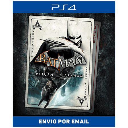 Batman Return to Arkham - Ps4 Digital