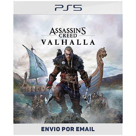 Assassin's Creed Valhalla - Ps4 e Ps5 Digital