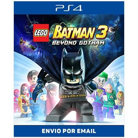 Lego Batman 3 - Ps4 Digital