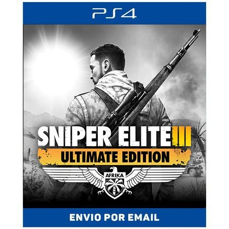 Sniper Elite 3 Ultimate Edition - Ps4 Digital
