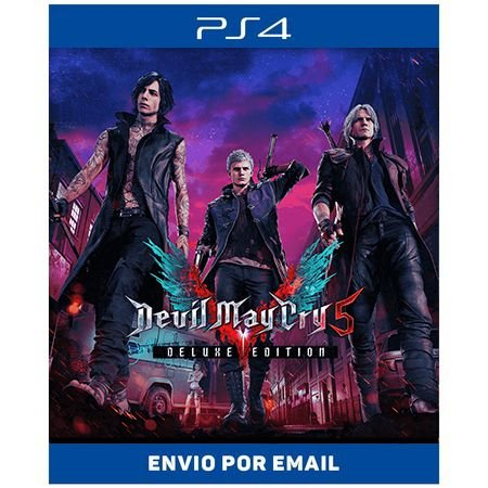 Devil may cry 5 deluxe - Ps4 e Ps5 Digital