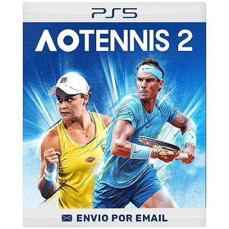Ao Tennis 2 - Ps4 e Ps5 Digital