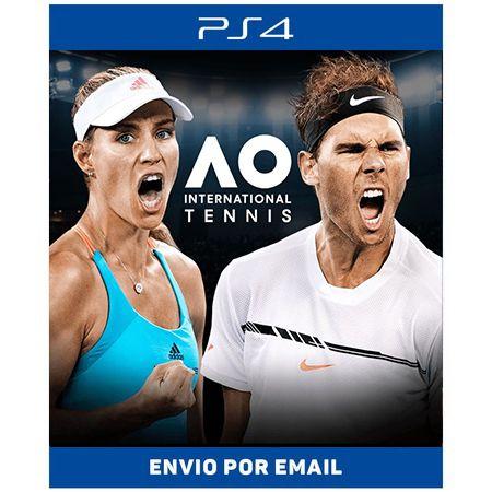 Ao Tennis - Ps4 Digital