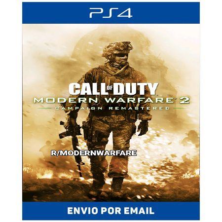 Call of duty Modern Warfare 2 remasterizado - Ps4 Digital