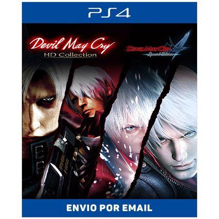Devil May Cry 4 em 1 - Ps4 Digital