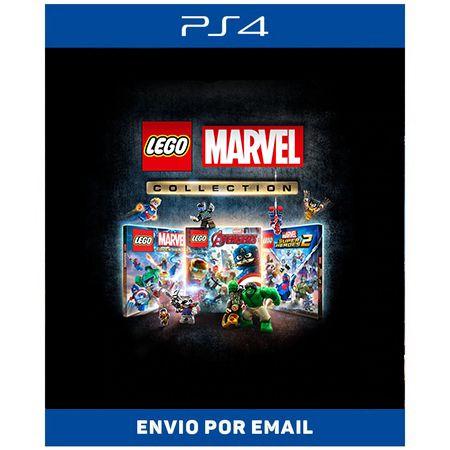 Coleção LEGO Marvel - Ps4 Digital