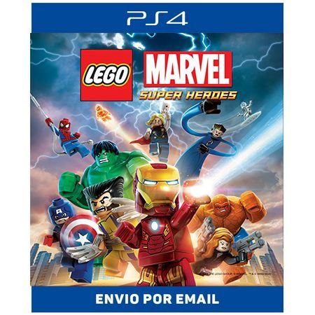 Lego Marvel  Super Heroes  - Ps4 Digital