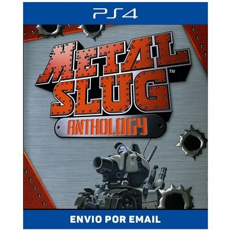 METAL SLUG ANTHOLOGY - Ps4 Digital