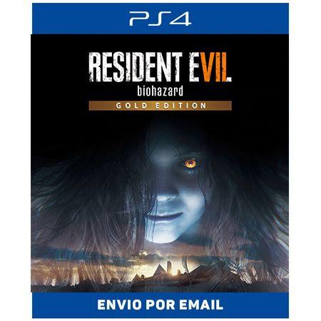 Resident evil 7 Gold Edition - Ps4 Digital