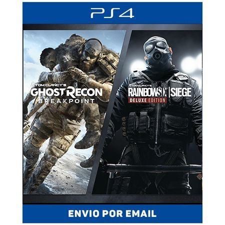 Rainbow Six + Ghost Recon Breakpoint - Ps4 Digital