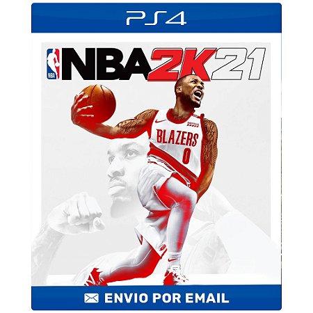 NBA 2K21 - Ps4 e Ps5 Digital
