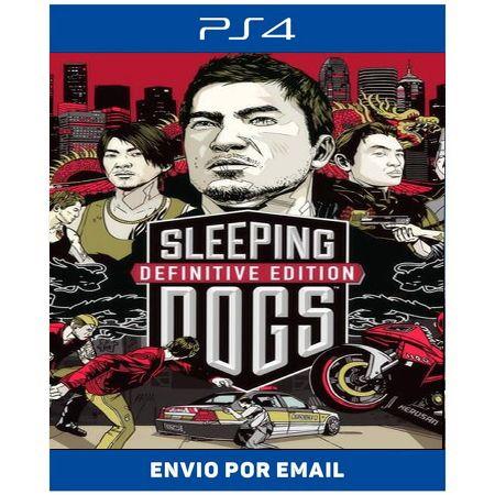 Sleeping Dogs Definitive - Ps4 Digital