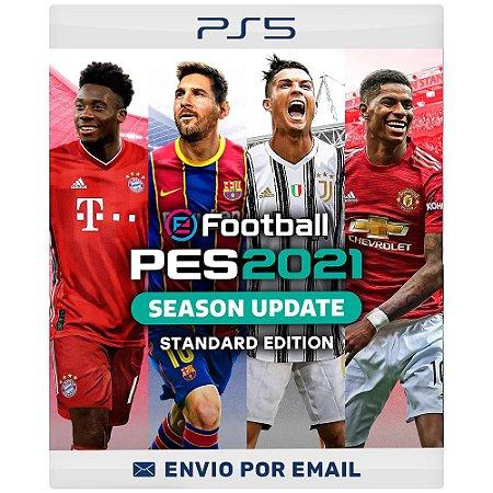 Efootball Pes 2021 - Ps4 e Ps5 Digital