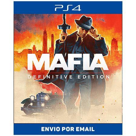 Mafia definitive edition - Ps4 e Ps5 Digital