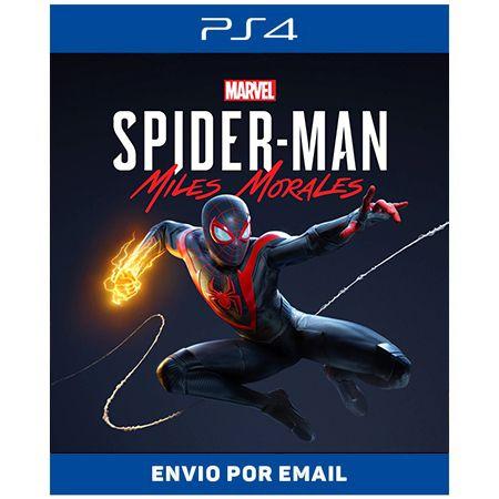 Homem aranha Miles Morales - PS4 E PS5 DIGITAL