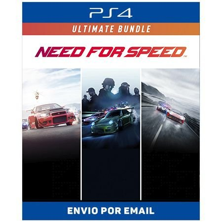Need for Speed Conjunto Ultimate - Ps4 e Ps5 Digital