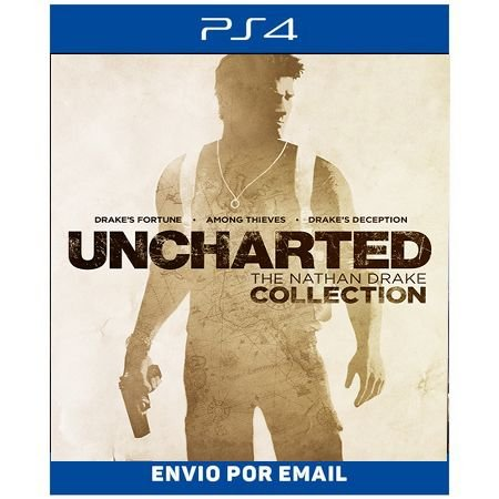 Uncharted colletion - Ps4 digital