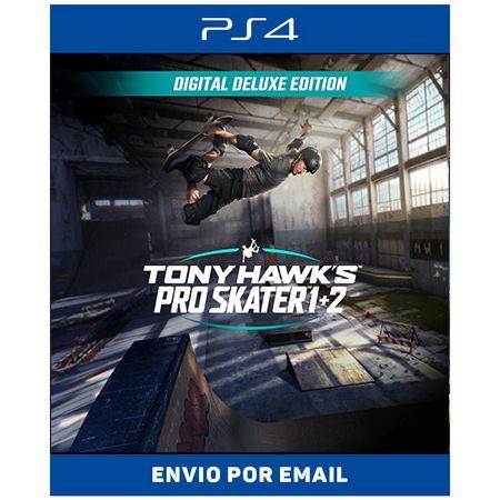 Tony Hawk's Pro Skater 1 + 2 Edição Deluxe - Ps4 Digital