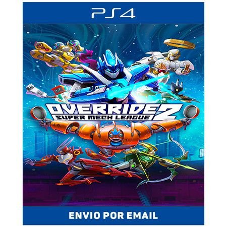 Override 2: Super Mech League - Ps4 e Ps5 Digital