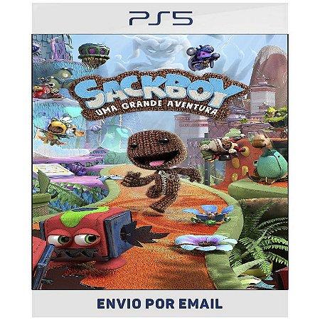 Sackboy: Uma Grande Aventura PS4 E PS5