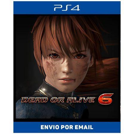 DEAD OR ALIVE 6 - PS4 DIGITAL