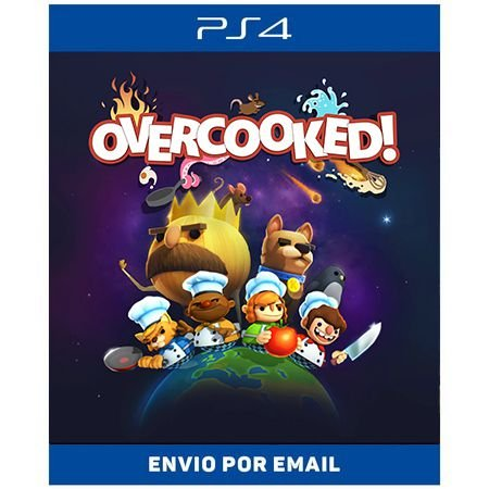 Overcooked - PS4 e PS5 DIGITAL