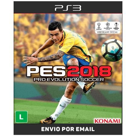 PES 2018 - PS3 DIGITAL