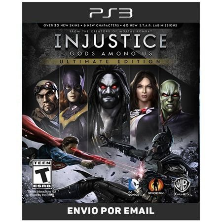 Injustice Gods amongs ultimate edition - PS3 DIGITAL