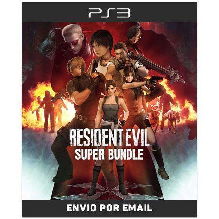 Resident Evil Super Bundle 10 Jogos Da Saga - Ps3 Digital