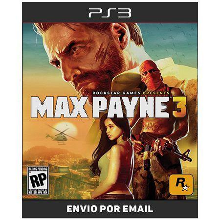MAX Payne 3 - Ps3 Digital