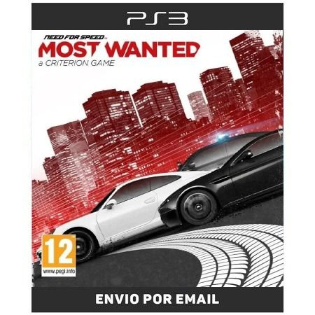Need for speed most wanted - Ps3 Digital