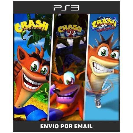 Crash Bandicoot Trilogia Clássicos De Ps1 - Ps3 Digital