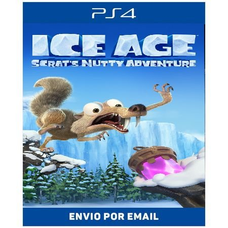 Era do Gelo Aventura Maluca do Scrat - Ps4 Digital