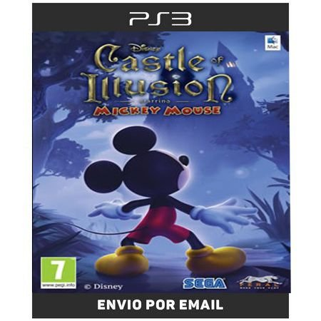 Mickey Mouse Castle Of Illusion - Ps3 Digital