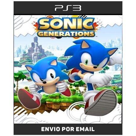 Sonic Generations - Ps3 Digital