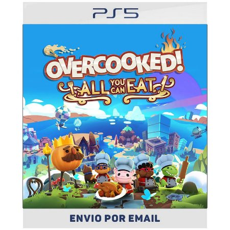 Overcooked! All You Can Eat - Ps4 & Ps5 Digital
